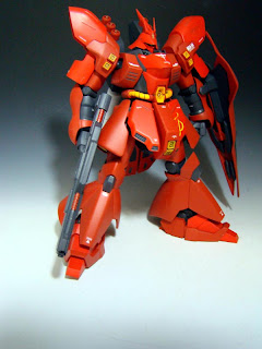 HGUC 1/144 MSN-04 SAZABI Costumized
