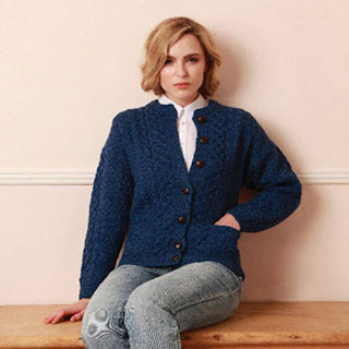 Carraig Donn Aran Ladies Lumber Jacket