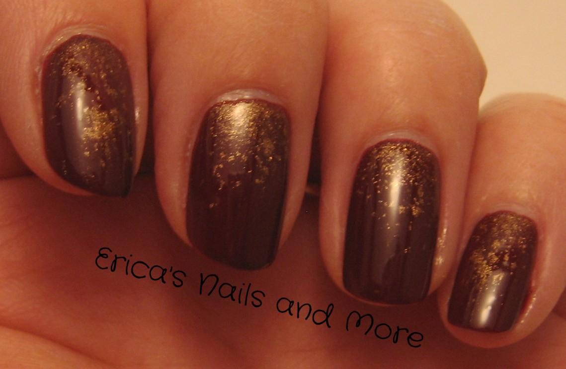 Erica\'s Nails and More: November Nail Art Challenge Day 10
