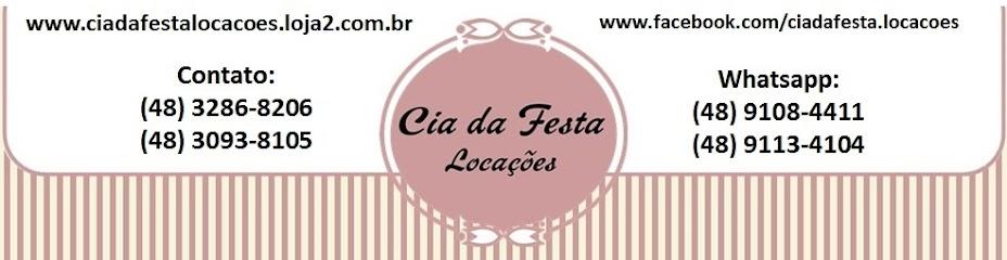 CIA DA FESTA LOCAÇÕES - Palhoça - SC