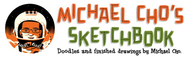 Michael Cho's sketchbook