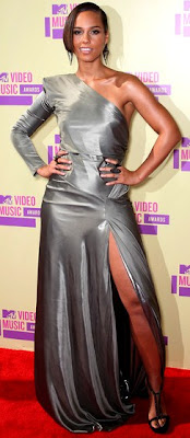 Alicia Keys en los MTV 2012
