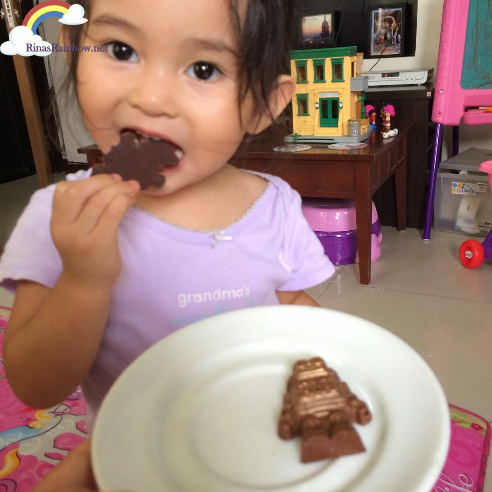 chocolate robot