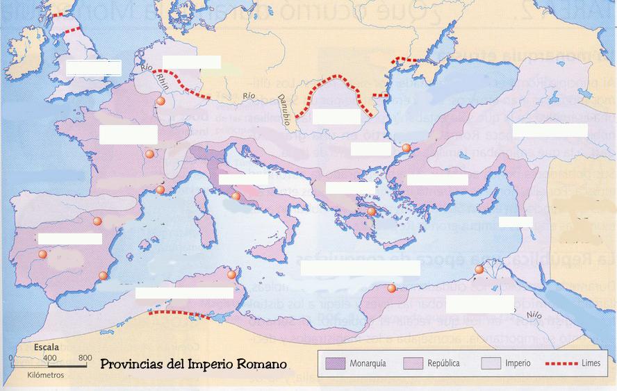 Worksheet. El blog de Luis Miguel LA ANTIGUA ROMA