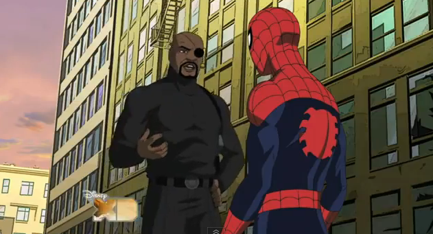 Ultimate Spider-Man Animated Series 2012 Disney XD Title by Brian Bendis, Paul Dini, Steven T. Seagle, Joe Kelly, Joe Casey, and Duncan Rouleau
