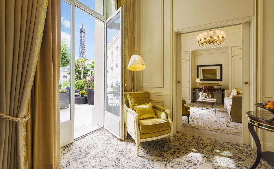 Carrie 39 s design musings making choices 2014 for Terrace eiffel tower view room shangri la