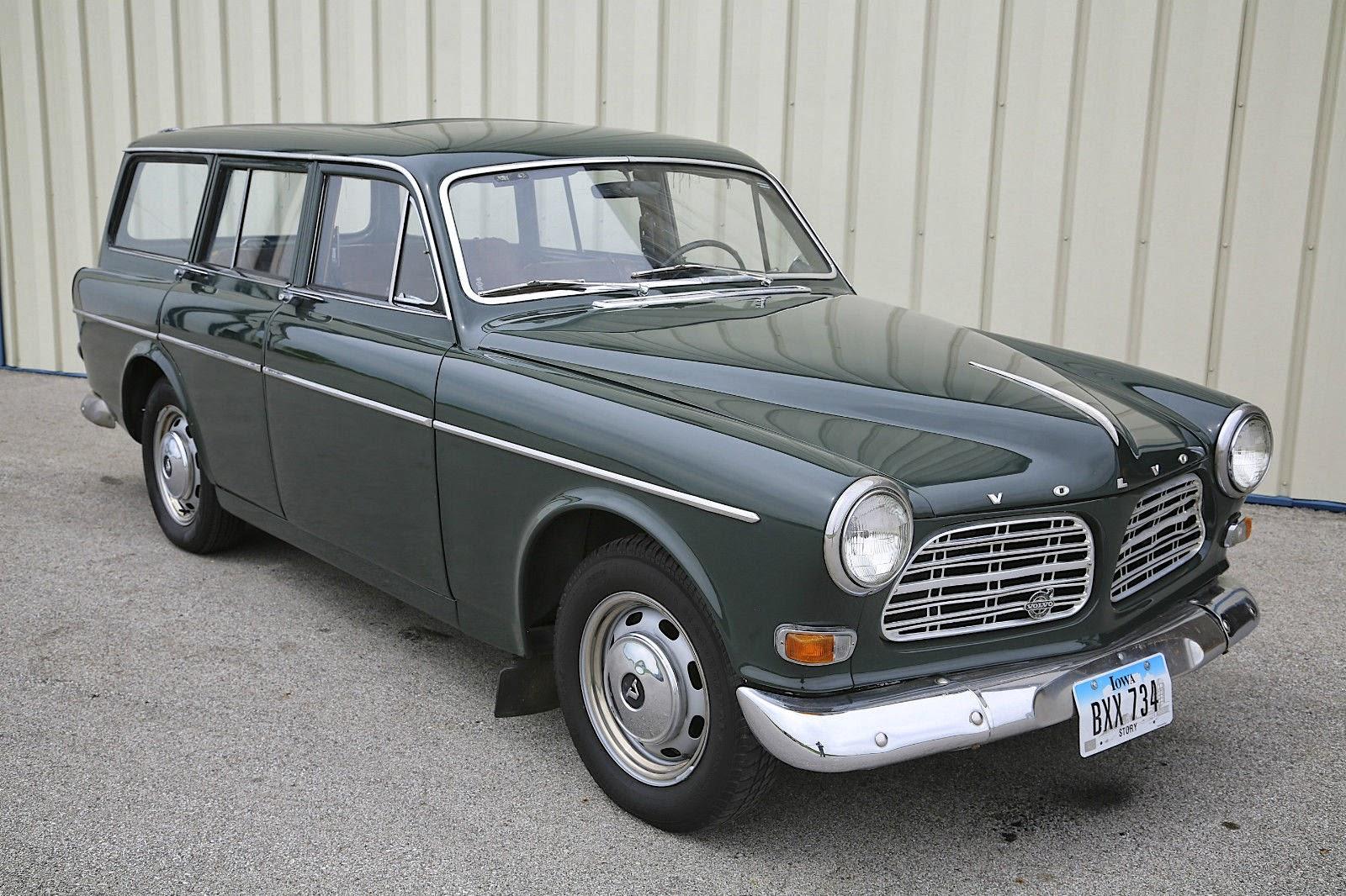 1967 Volvo Amazon Station Wagon Auto Restorationice