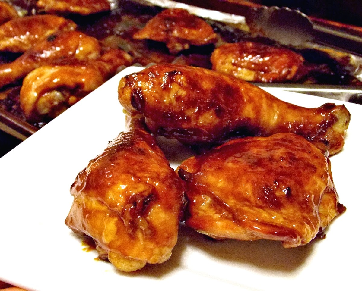 ... Coffee Glazed Barbecued Chicken on the Grill or in your Oven from Cleo