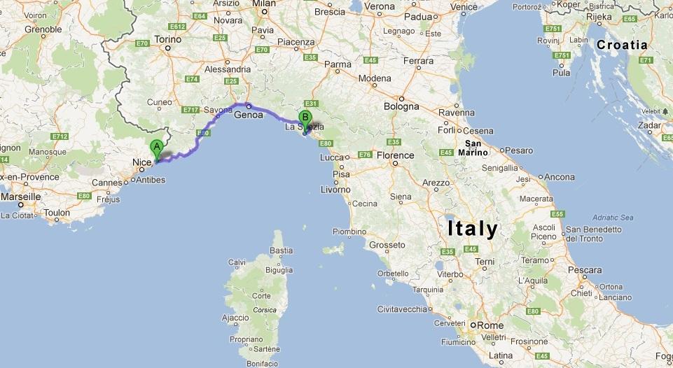 Livorno Castelli Mappa