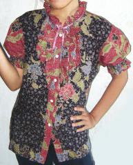 Busana batik remaja lucu