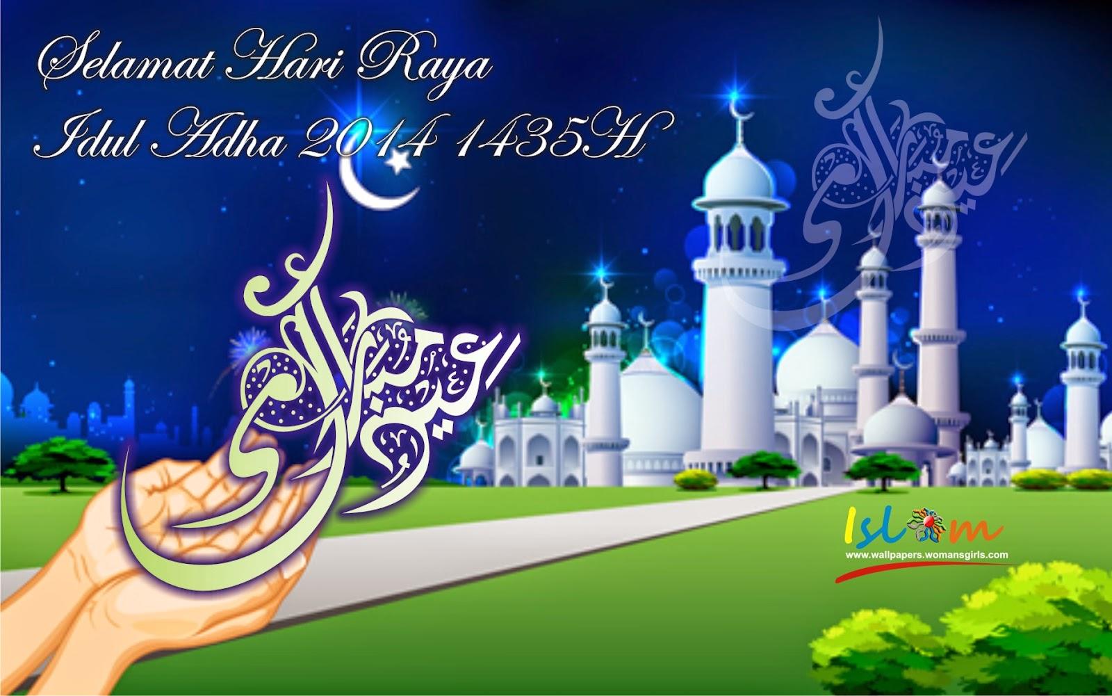 Wallpaper Selamat Idul Adha 2014 1435h background