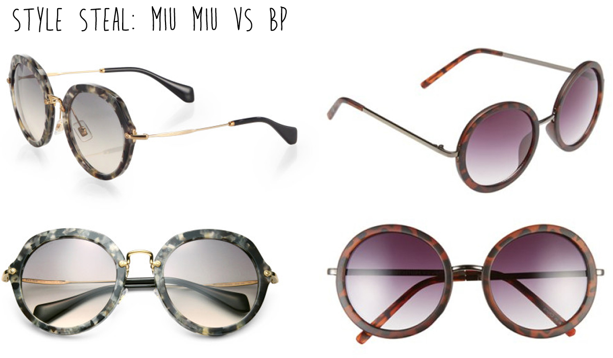 Get the Look for Less - Miu Miu