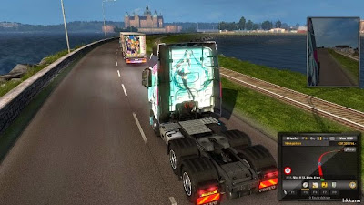 Euro Truck Simulator 2 Scandinavia Gameplay