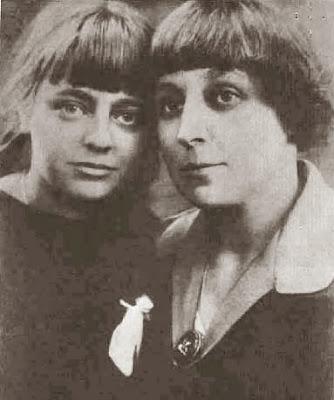 Marina Tsvietáieva y su hija Ariadna