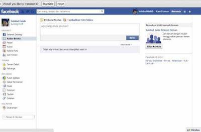 cara cepat daftar facebook