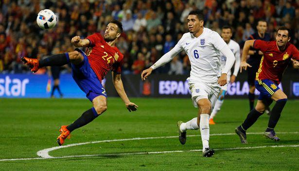Hasil laga Spanyol 2-0 Inggris