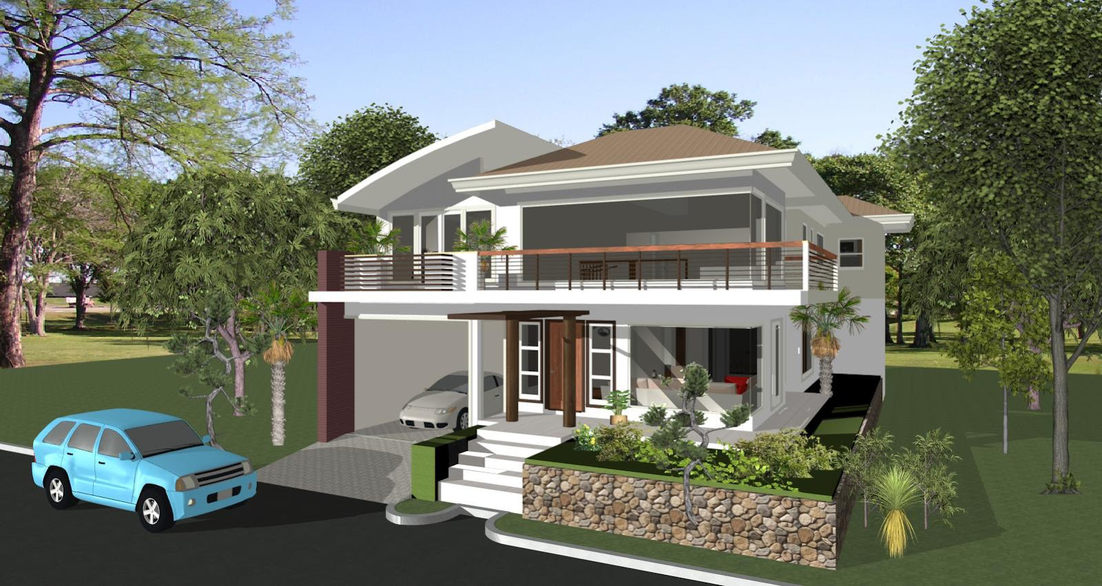 House designs in the philippines in iloilo by erecre group for House color design exterior philippines