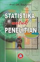 toko buku rahma: buku STATISTIKA UNTUK PENELITIAN, pengarang sugiyono, penerbit alfabeta bandung