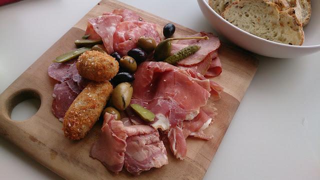 Rochford Restaurant, winery, charcuterie platter
