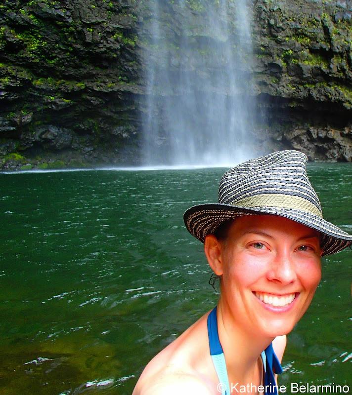 Hanakapi'ai Falls Pool Kauai Hawaii