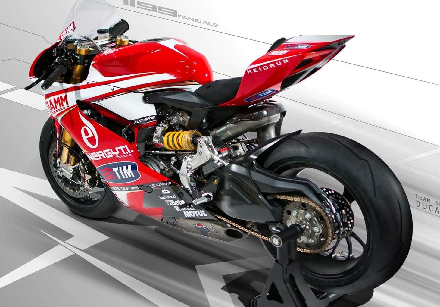 Ducati 1199 Panigale R WSBK, 2013 Ducati Alstare 1199 Panigale R World Superbike