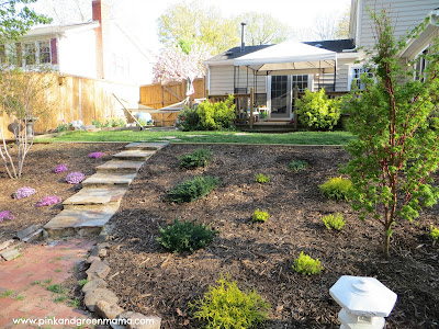 Pink And Green Mama DIY Backyard Makeover On A Budget With Help From HGTVGardens!