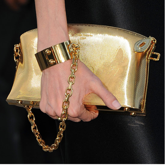 Fetish Fashion :  Louis Vuitton Lockit PM Devotion Clutch - 2011