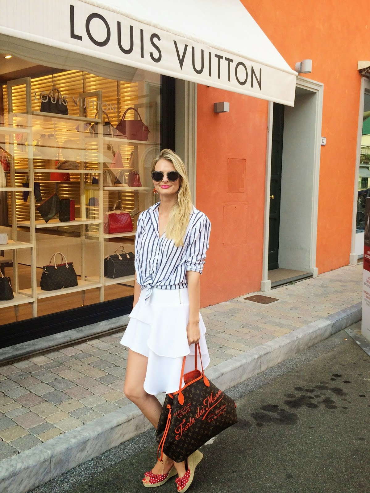 forte dei marmi, forte dei marmi street style, tuscany, italy, italy street style, louis vuitton neverfull, louis vuitton cruise collection