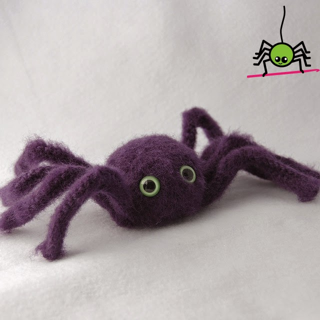 The Itsy Bitsy Spider Crochet: Amigurumi Spider
