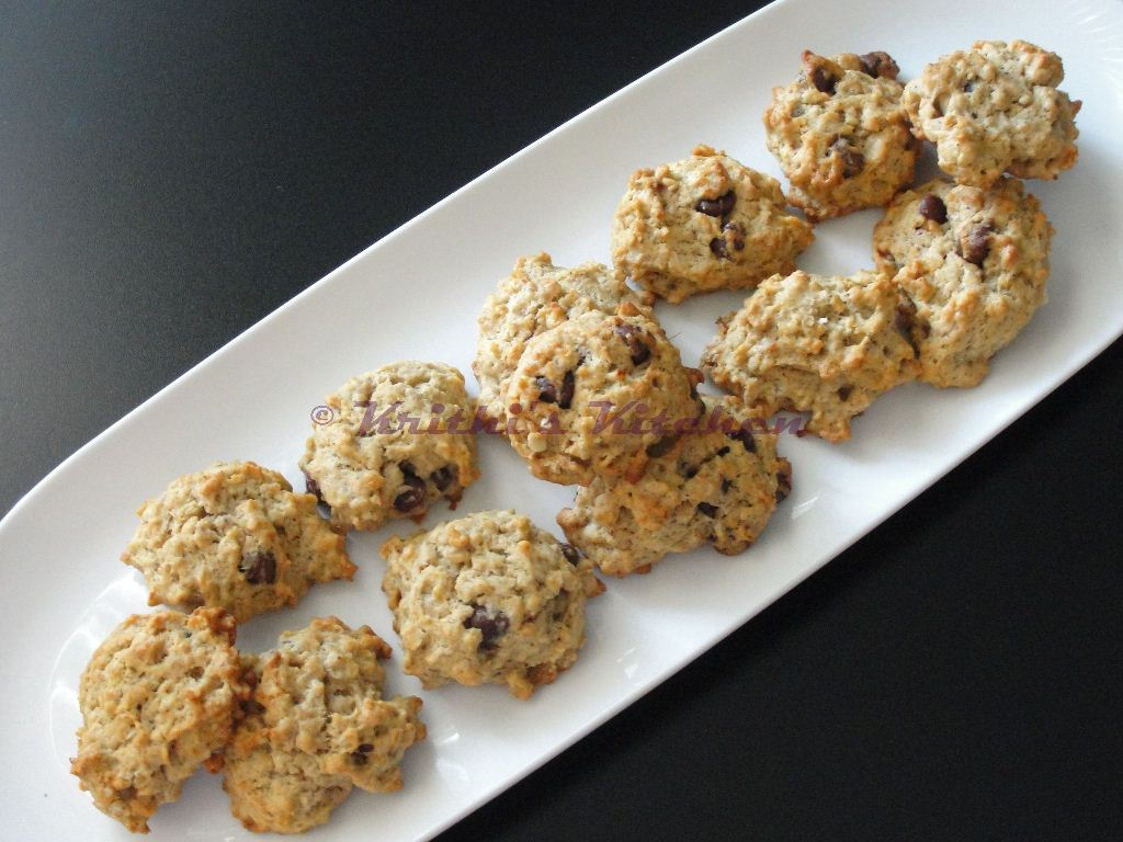 ... Kitchen: Banana Oatmeal Chocolate Chip Cookies | Cookie Recipes