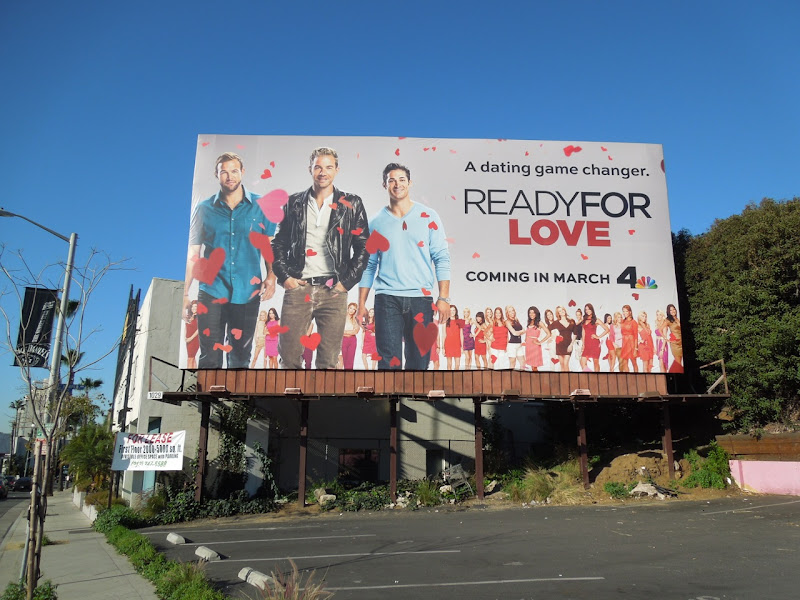 Ready For Love NBC billboard