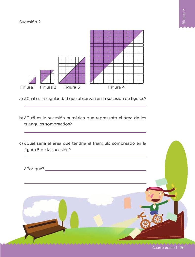 No basta con mirar - Desafios matemáticos 4to Bloque 5 2014-2015
