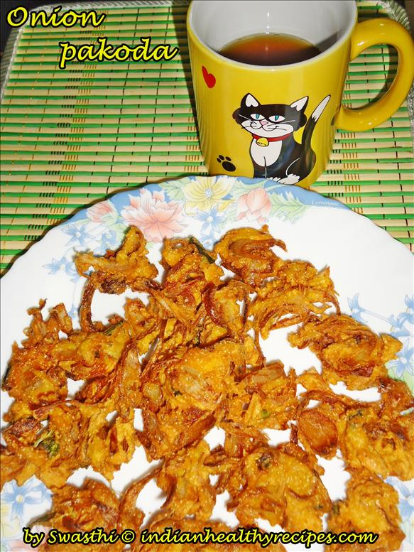 Crispy Onion Pakoda  | Pakora Recipe
