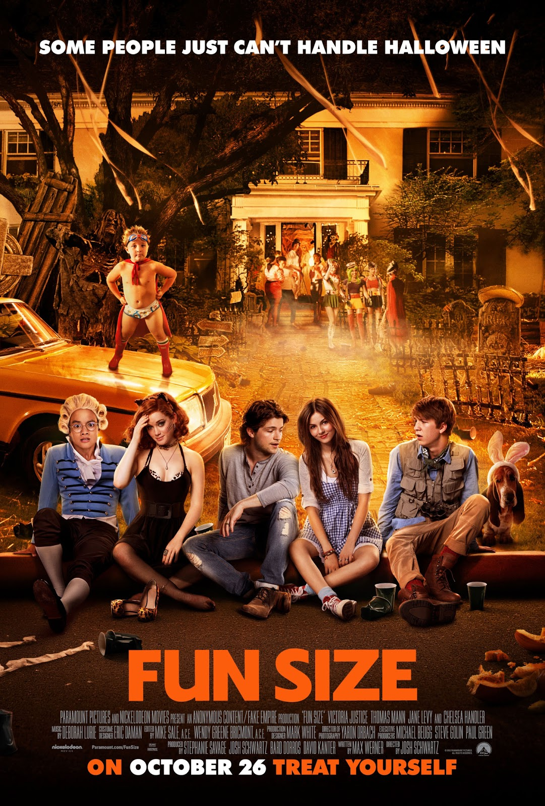 zachary s marshs movie reviews review fun size