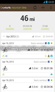 Runtastic Mountain Bike PRO Free Apps 4 Android