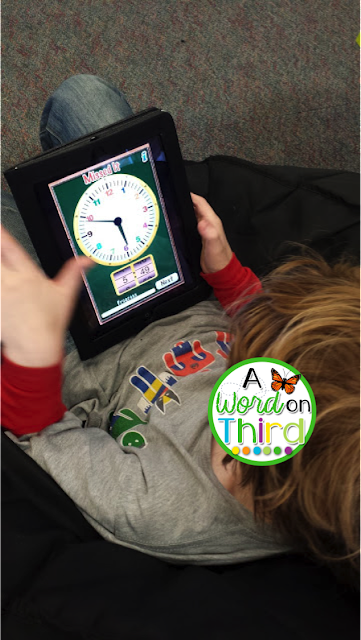 A Word On Third: apps to support math instruction in the classroom