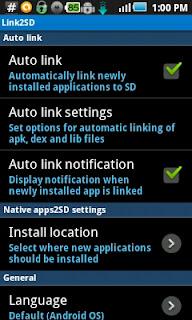 Aplikasi Link2SD Pada Android