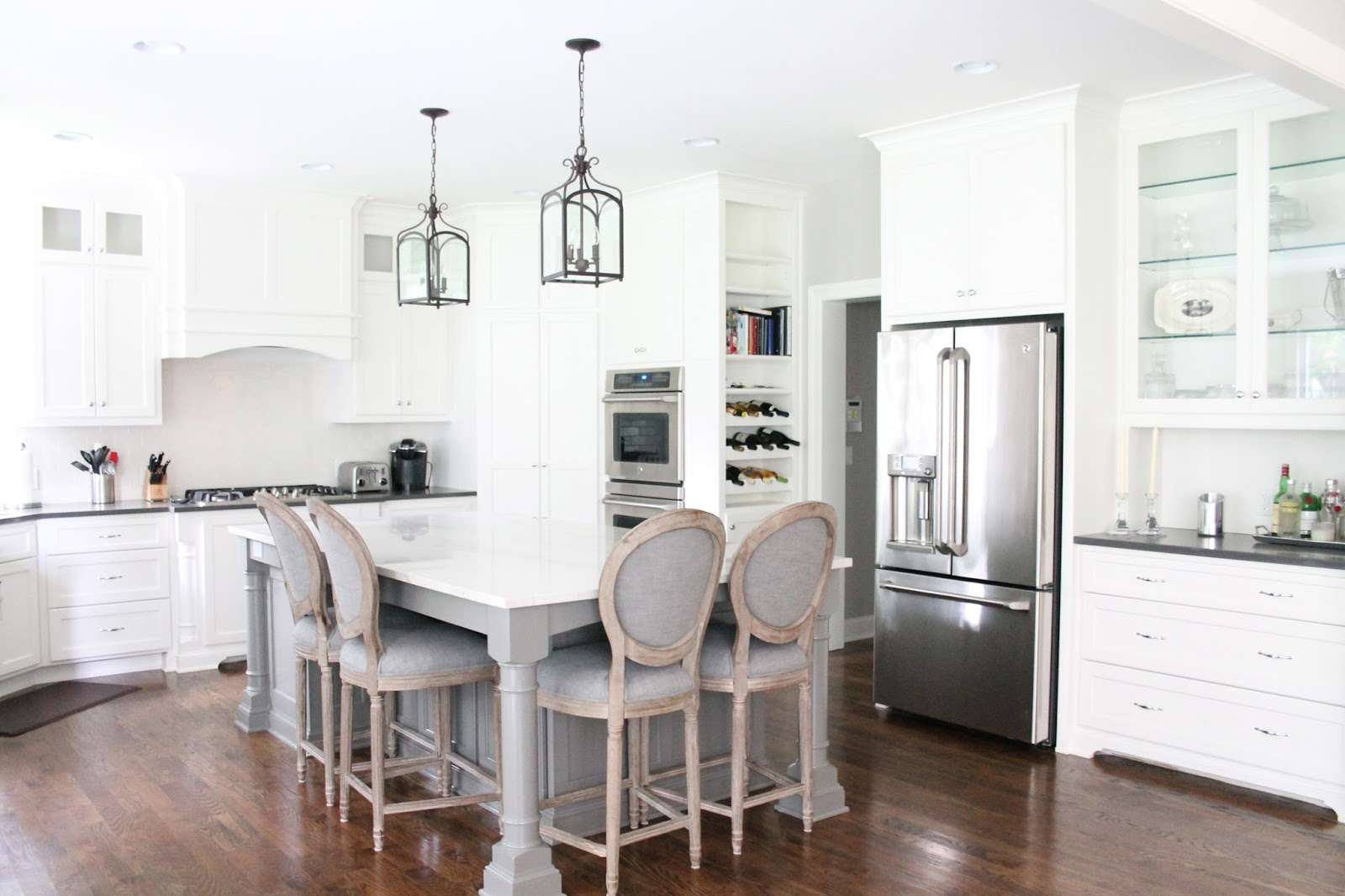 A new cape cod with a kitchen dreams are made of for Cape cod kitchens pictures