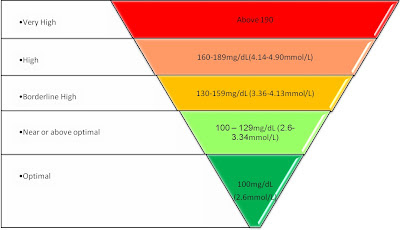 how to read cholesterol report