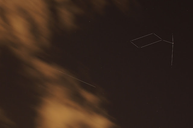 ISS and Lyra constellation