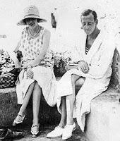 Dmitri Pavlovich de Russie 1891-1941 et son épouse, née Audrey Emery 1904-1971