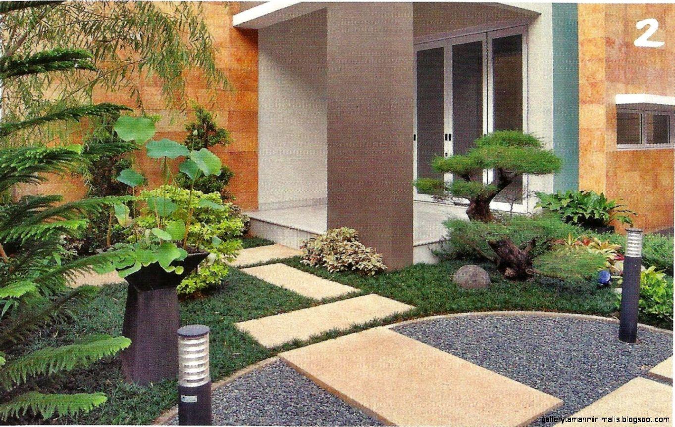 Desain Taman Depan Garasi 18 Desain Taman Depan Rumah Minimalis