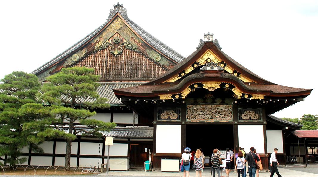 Shogun Residence  Nijo Castle, Kyoto