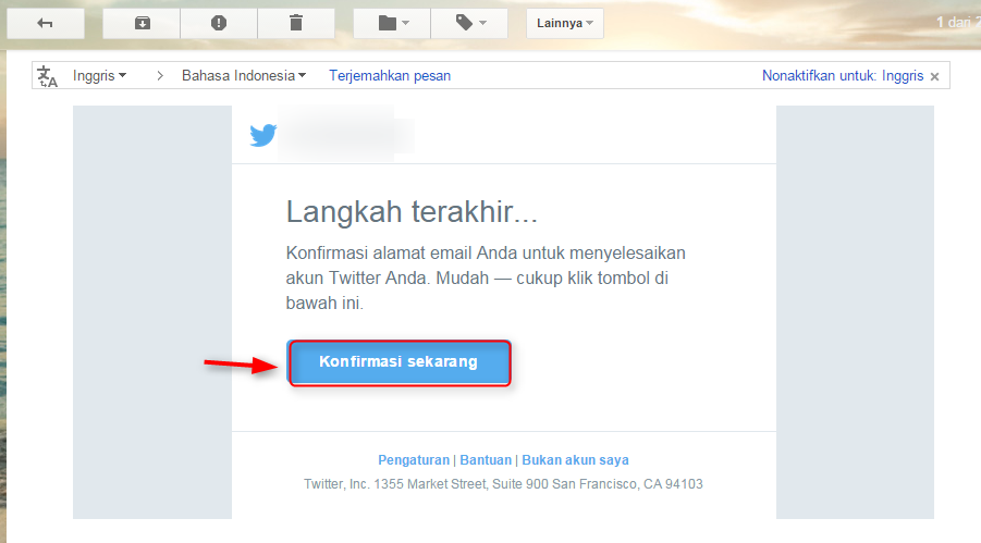 Twitter Email Melihat Email Dari Twitter
