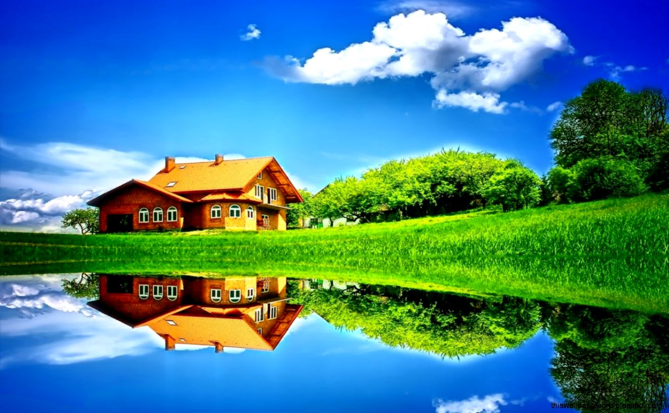 My Dream Home Wallpaper