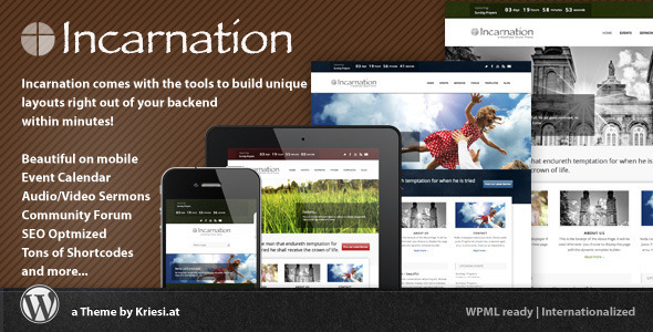 ThemeForest - Incarnation - Church and Community Theme