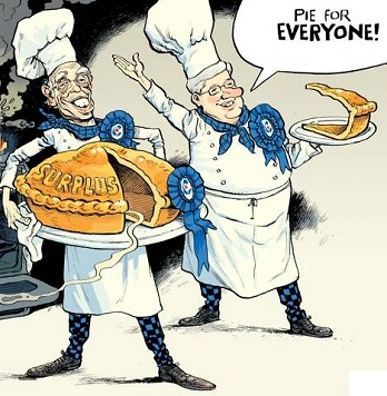 David Parkins: Pie for everyone.