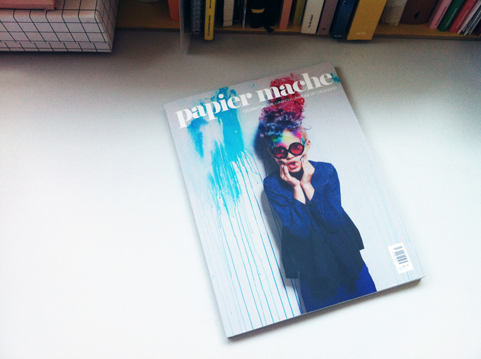 new issue N° 08 of papier mache magazine