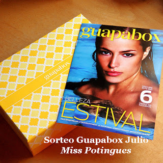 Sorteo Guapabox Julio Miss Potingues