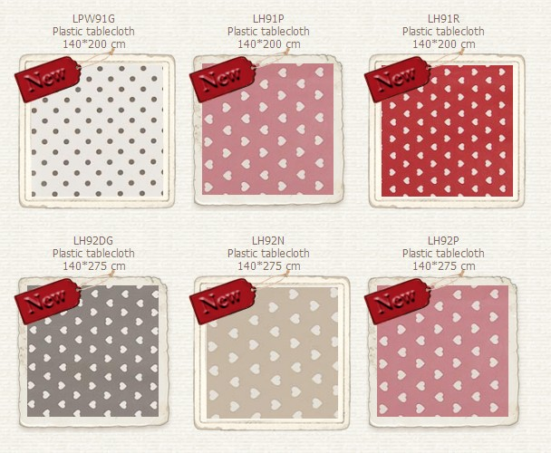 Tessuti plastificati per tovaglie sanotint light tabella colori - Tovaglie plastificate design ...